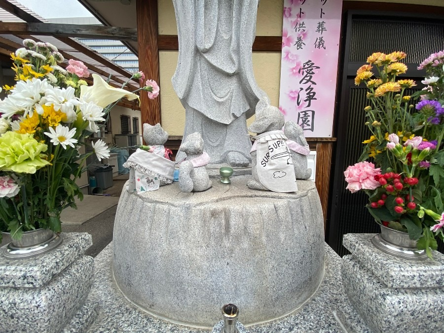 合同慰霊碑で永代供養